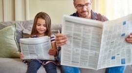 Read A Newspaper Best Wallpaper