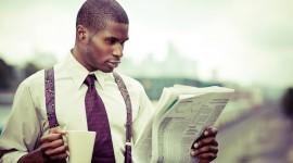 Read A Newspaper Photo