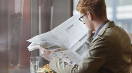 Read A Newspaper Photo Free