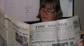 Read A Newspaper Wallpaper HQ#1