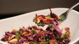 Red Cabbage Salad Wallpaper