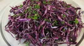 Red Cabbage Salad Wallpaper For Desktop