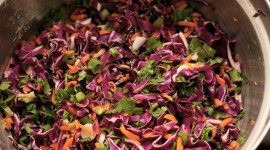 Red Cabbage Salad Wallpaper For PC