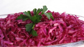 Red Cabbage Salad Wallpaper Free