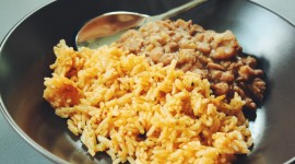 Rice In Mexican With Beans Best Wallpaper
