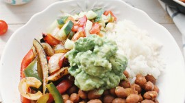 Rice In Mexican With Beans Wallpaper For IPhone Free