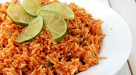 Rice In Mexican With Beans Wallpaper HD
