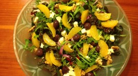 Salad From Oranges Best Wallpaper