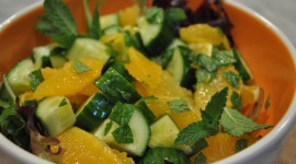 Salad From Oranges Wallpaper 1080p