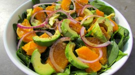 Salad From Oranges Wallpaper For PC
