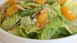 Salad From Oranges Wallpaper Free