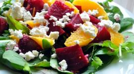 Salad From Oranges Wallpaper Full HD