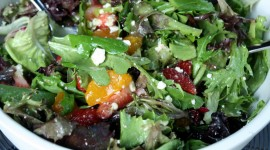 Salad From Oranges Wallpaper Gallery