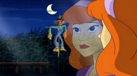 Scooby Doo Halloween Daphne spooked