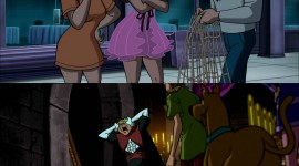 Scooby Doo Stage Fright Wallpaper For IPhone