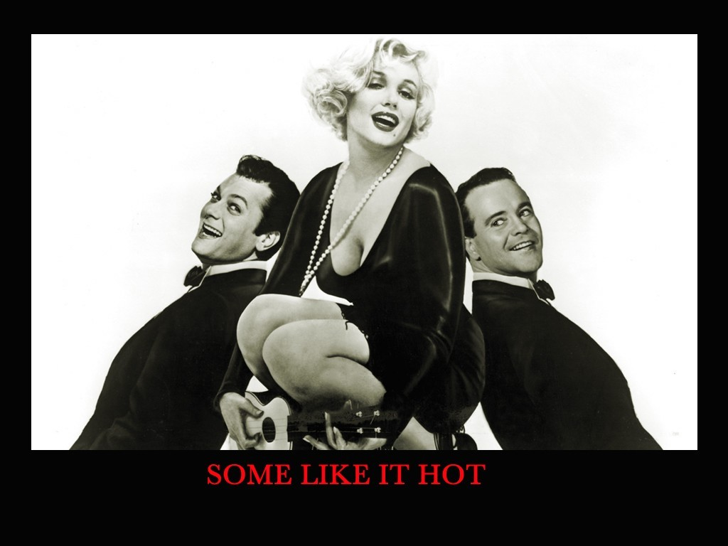 Some Like It Hot 1959 wallpapers HD