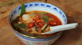 Soup Tom-Yam-Kung Wallpaper Download Free