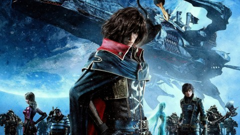 Space Pirate Captain Harlock wallpapers high quality