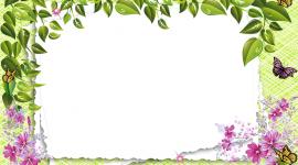 Spring Frame Desktop Wallpaper For PC