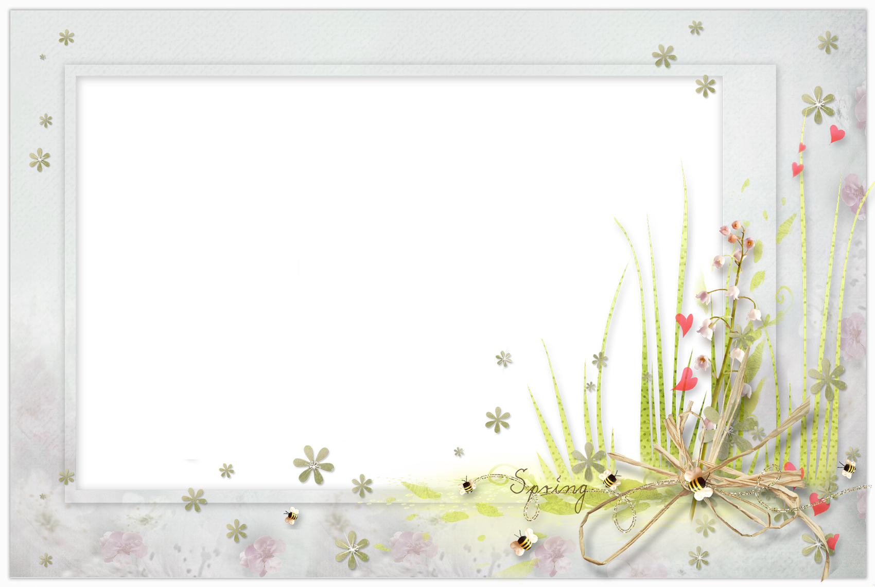 Ipad Png Transparent Spring Frame Wallpaper...