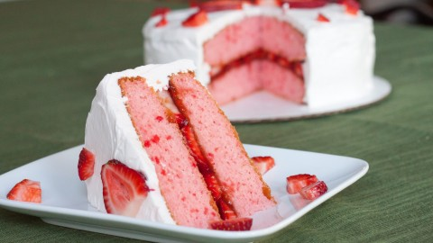 Strawberry Cake wallpapers high quality