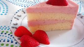 Strawberry Cake Wallpaper Download