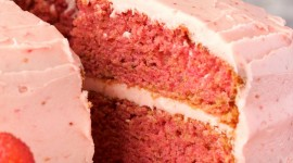 Strawberry Cake Wallpaper For Android