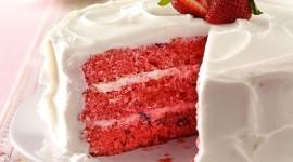 Strawberry Cake Wallpaper HQ