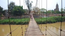 Suspension Bridge Photo Free#1