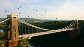 Suspension Bridge Photo Free#2