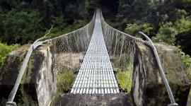 Suspension Bridge Wallpaper