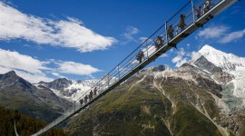 Suspension Bridge Wallpaper Full HD