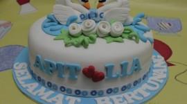 Swan Cake Wallpaper Download