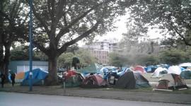 Tent Town Desktop Wallpaper