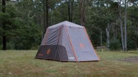 Tent Town Desktop Wallpaper Free