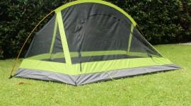 Tent Town Desktop Wallpaper HD