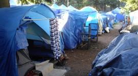 Tent Town Wallpaper Download