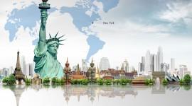Trip Around The World High Quality Wallpaper