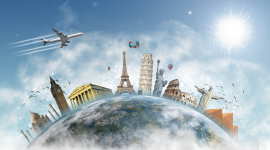 Trip Around The World Wallpaper For PC