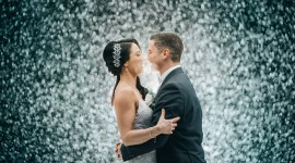 Wedding In The Rain Photo Download