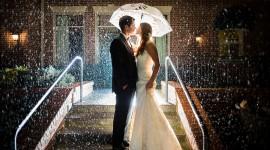 Wedding In The Rain Wallpaper