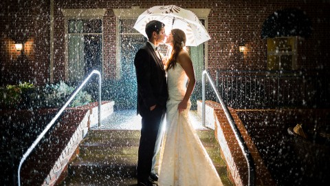 Wedding In The Rain wallpapers high quality