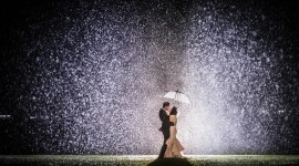 Wedding In The Rain Wallpaper Download
