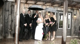 Wedding In The Rain Wallpaper For PC