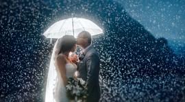 Wedding In The Rain Wallpaper Full HD