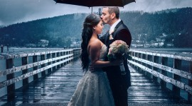Wedding In The Rain Wallpaper HQ