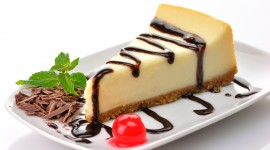 4K Piece Of Cheesecake Wallpaper Full HD