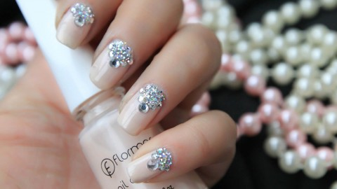4K Rhinestone Nails wallpapers high quality