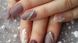 4K Rhinestone Nails Wallpaper For Android