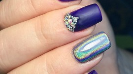 4K Rhinestone Nails Wallpaper For Android#1